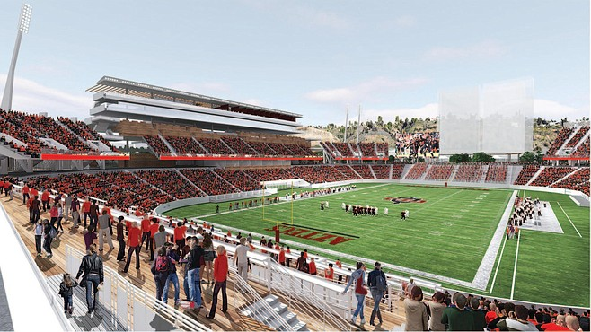 New stadium illustration – from SDSU