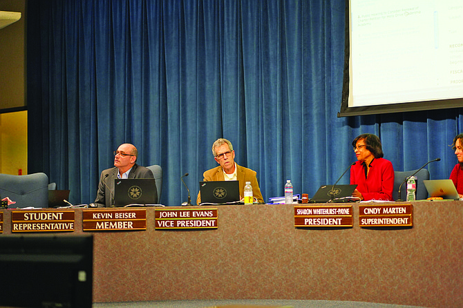 The San Diego Unified School Board seems tired of listening to the concerns of the community.