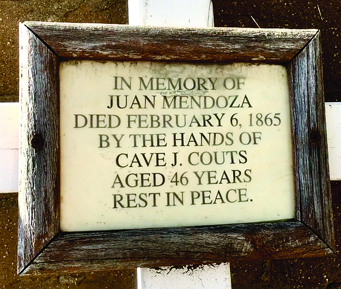 Juan Mendoza. The marker doesn't mince words