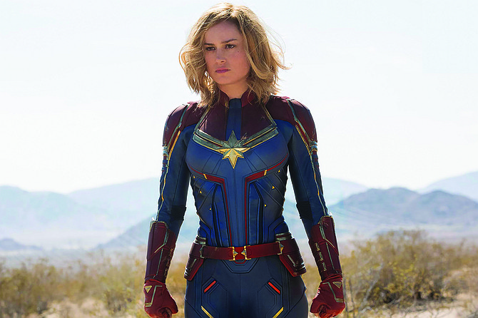 Captain Marvel: Because women need power-punching role models, too?