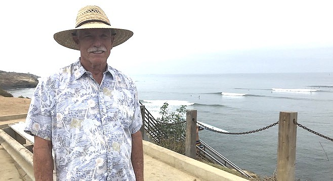 "Michael Curtis: ""You could hitchhike down to the beach and rent surf boards for 50 cents."""