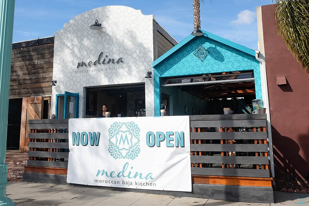 Medina, formerly known as the pop-up food vendor Medina Moroccan-Baja Kitchen