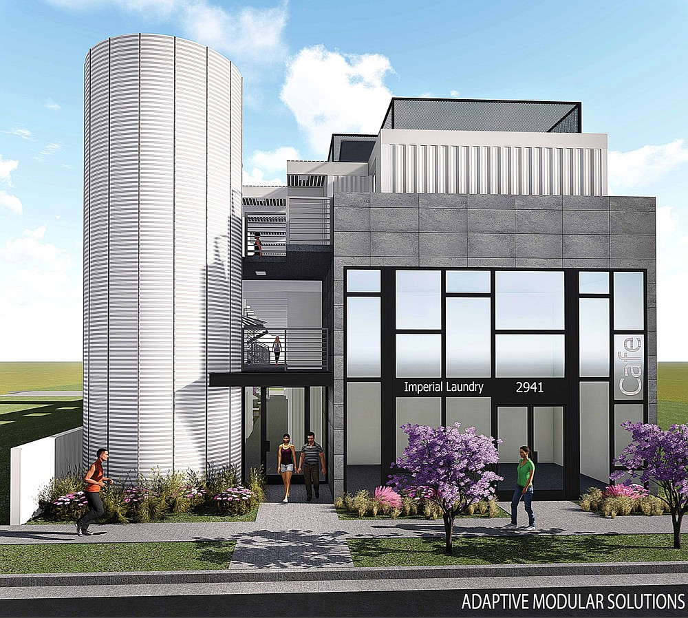 Shipping container housing coming to Logan Heights. (Makana)