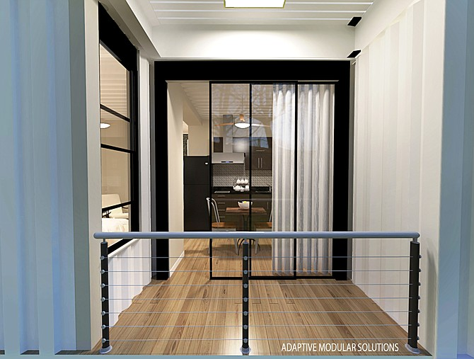 Housing made from shipping containers could be a game changer. (Makana)
