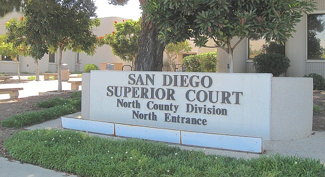 North County superior courthouse.