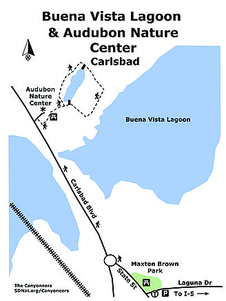 Buena Vista Lagoon map