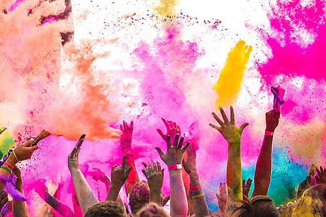 Holi Festival: Hindu celebration signifying victory of good over evil, arrival of spring, and thanksgiving for good harvest.