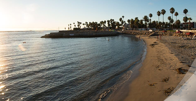 """Estero Beach. """"For the first time, the Ensenada city streets will not be closed off."""""""