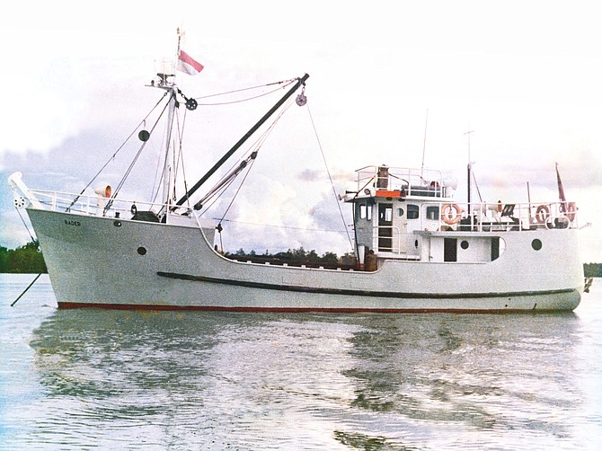 The MV Indies Trader is a legendary boat, whose history spans decades and continents.