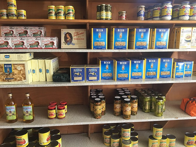 BMH Italian sells all sorts of goodies besides sandwiches.