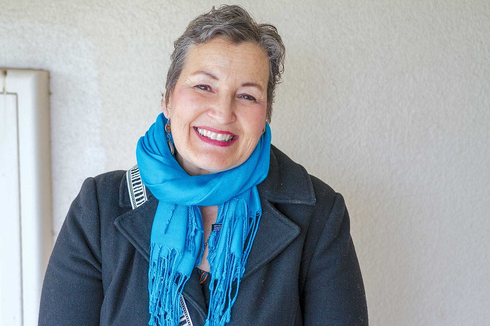 """Lisa Gruber: """"Singing is my prayer. The words in the hymn are theology."""""""