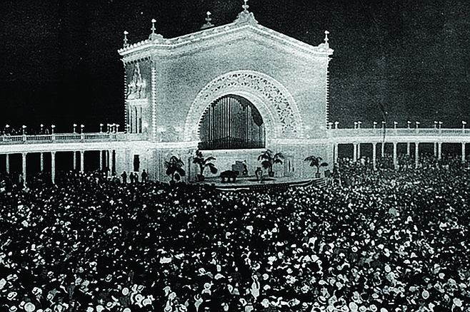 1000 singing voices of San Diego. (Photo credit: San Diego History Center)