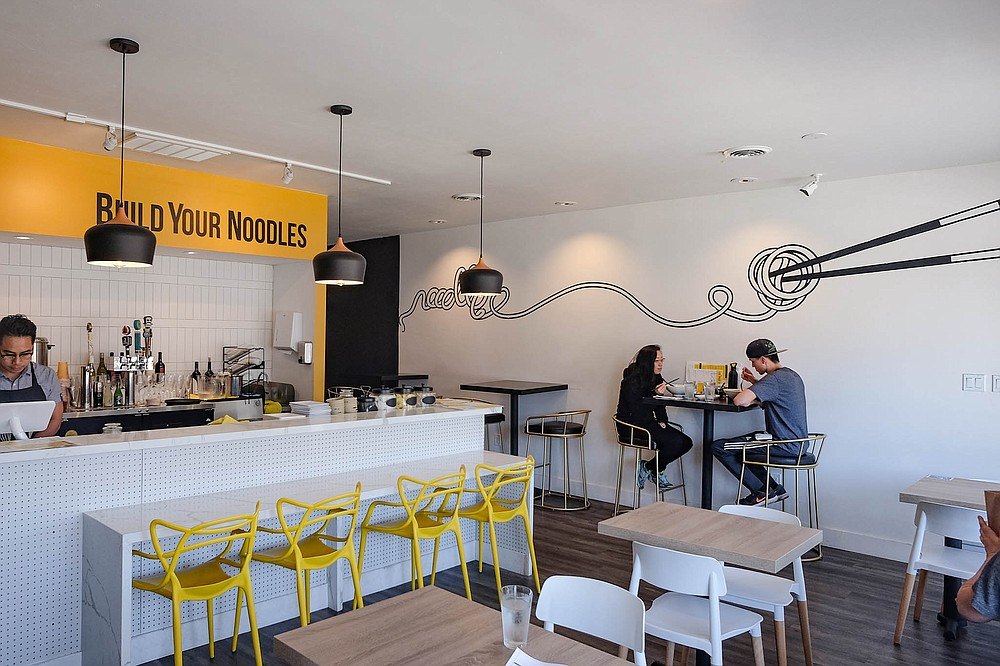 A simple noodle bar open late in North Park