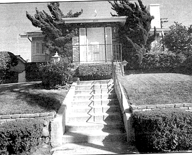 Former Oakley Hall house on Arista Drive