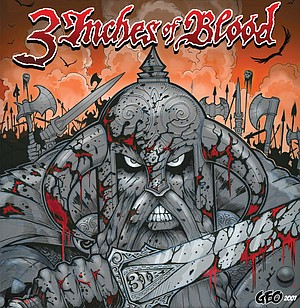 3 Inches of Blood album art by George Davis