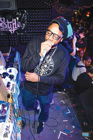 """DJ Artistic: """"We do the scratch battle here at the Casbah as authentic as hip hop has been — with turntables and a mixer."""""""