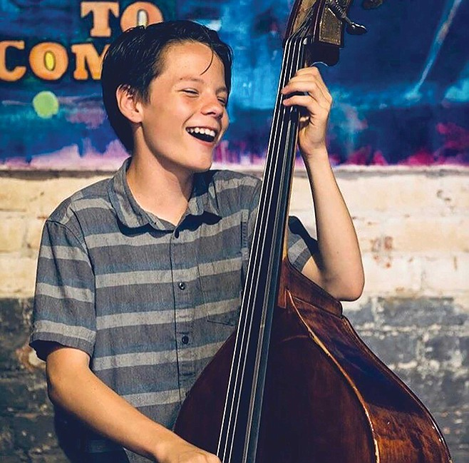 John Murray just turned 15 and is a double-bass phenomenon