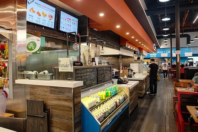 Furaido Premium Chicken Company has a spot in the Atlas Market food hall.