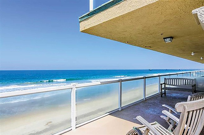 Oceanfront condo living at San Diego's southernmost tip