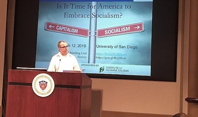 Professor Chibber at USD