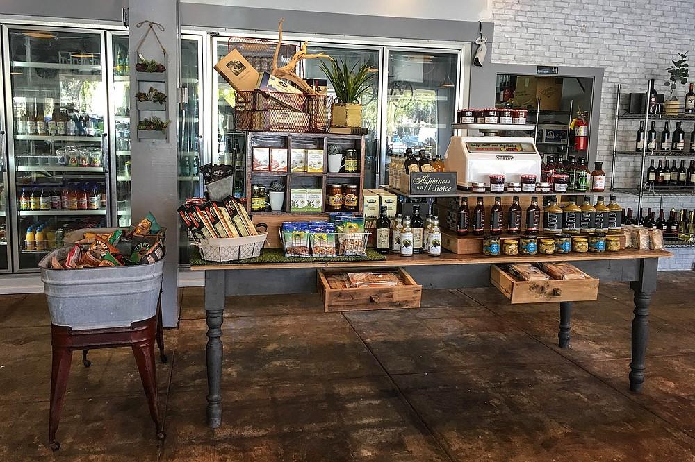 Fewer market items, but more elegantly arranged