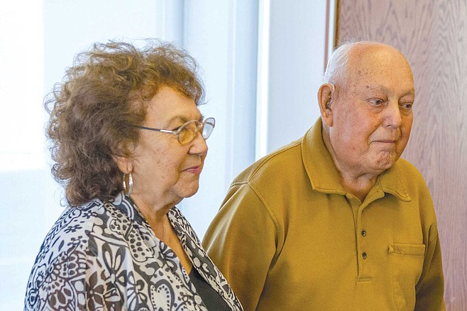 Lorraine and Bobby Castellanos are part of a group of descendants of the Incident's first families.