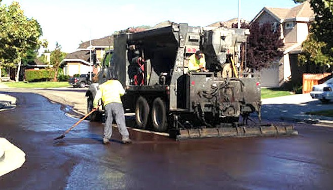 "Union-Tribune:""The faulty work includes at least eight paving jobs."""