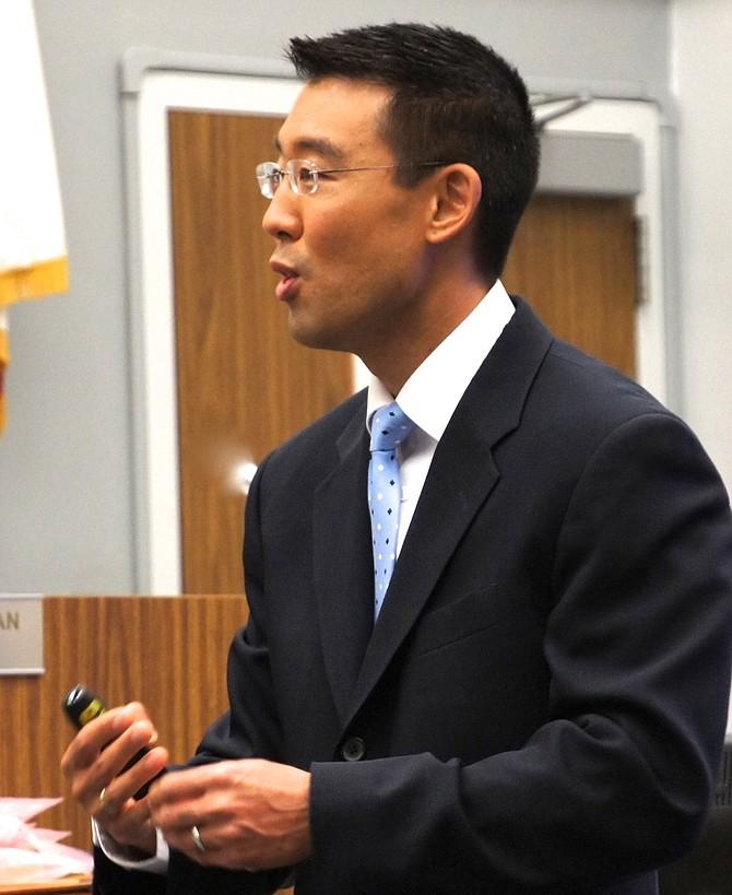 Prosecutor Keith Watanabe