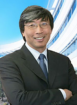 Patrick Soon-Shiong's still smiling despite a few uppity exmployees.