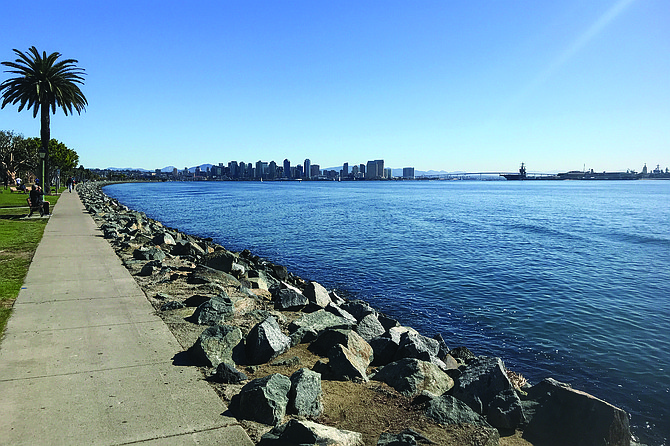 Harbor Island is just across the road from the Airport, offering views of Downtown, vessels on the Bay, and North Island