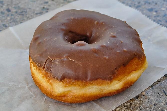 The donut standard: chocolate glazed