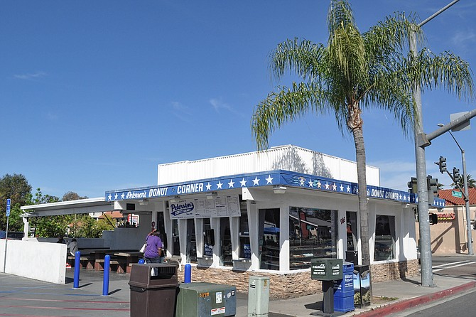 Donuts and more, 24 hours a day on an Escondido street corner.