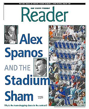 1999 story on Spanos