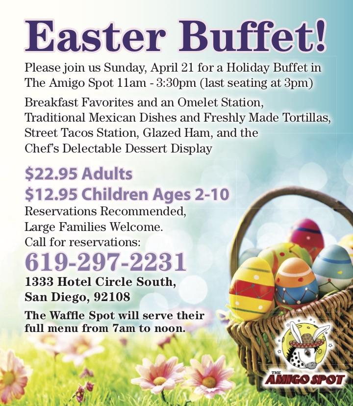 Easter at Kings Inn San Diego