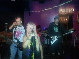 Kitty at The Go Lounge w/CYKA