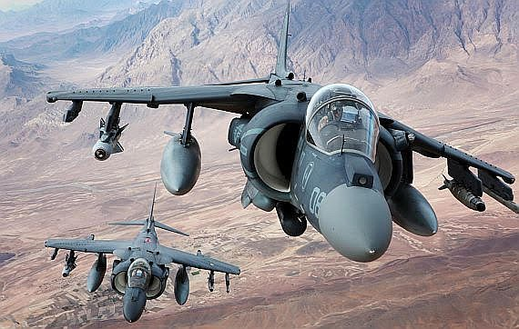 """""""AV-88 pilots could not use their main weapon on the range because of a lack of moving targets."""""""