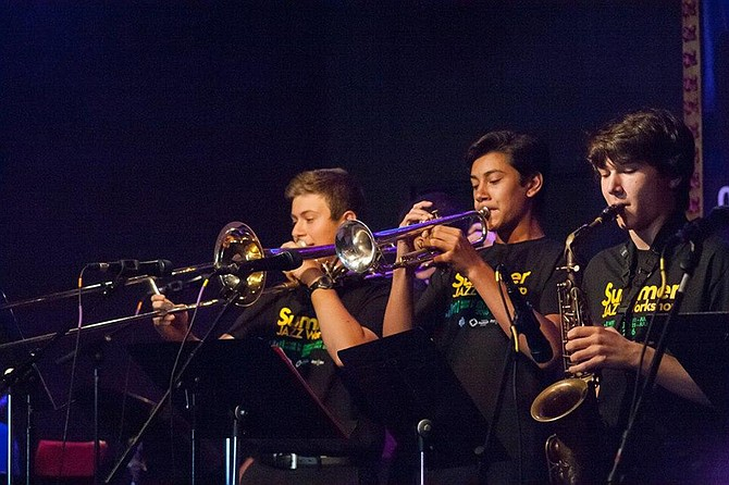 Francis Parker jazz workshop offer a chance for students to play with some of San Diego's top jazz musicians.