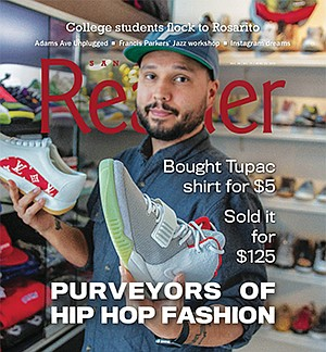 Dante Rowley is the owner of Rosewood San Diego, a sneaker and clothing shop on Market Street