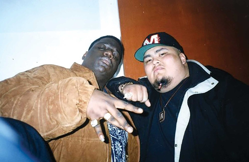 The Notorious BIG and Mikeski