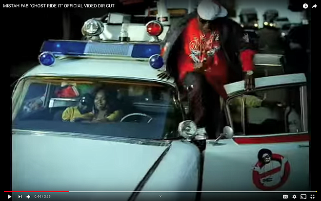 2006 video: Mistah Fab rapped on the hood