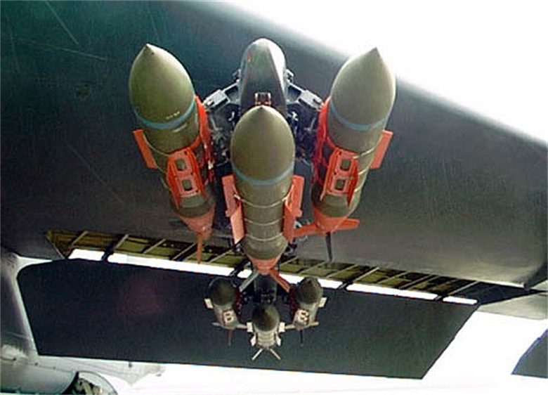 There is a severe shortage of so-called Joint Direct Attack Munitions.
