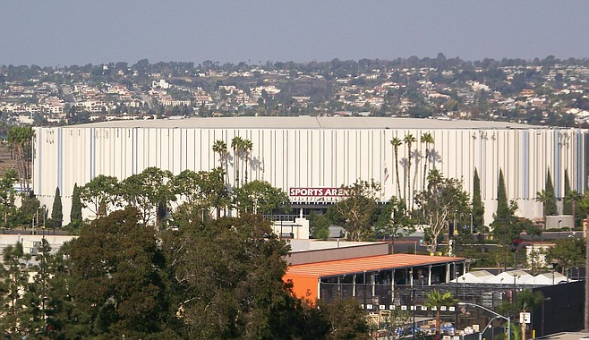 San Diego Sports Arena was built in 1966.