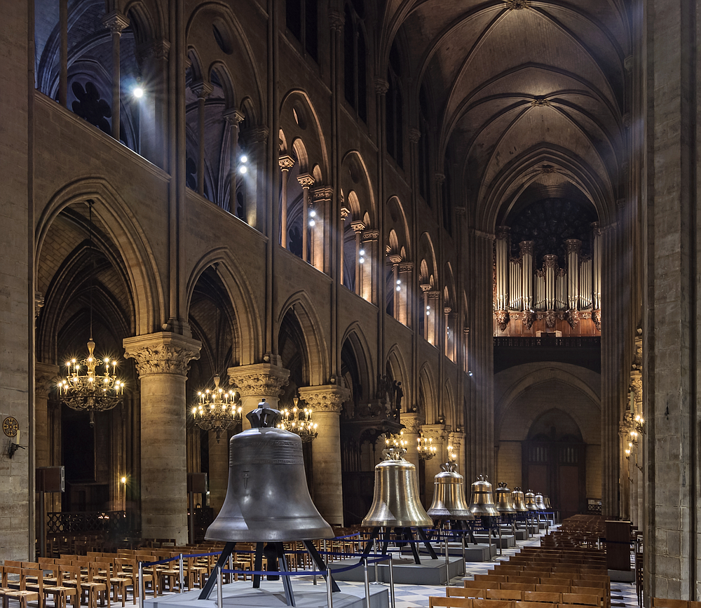 Notre Dame with the new bells, 2013.