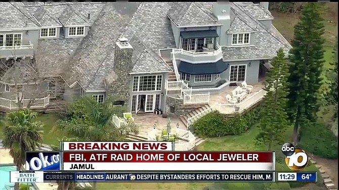 $2000 came from jeweler Leo Hamel, whose home was raided by the FBI last year.