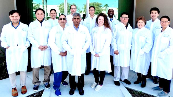 Staff at Sparsha Pharma
