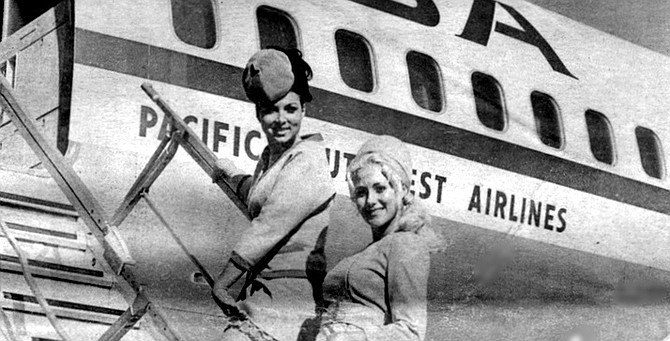 PSA had gained a nickname that was at once endearing and mordant: PSA was the go-go-airline. - Image by Gordon Menzie