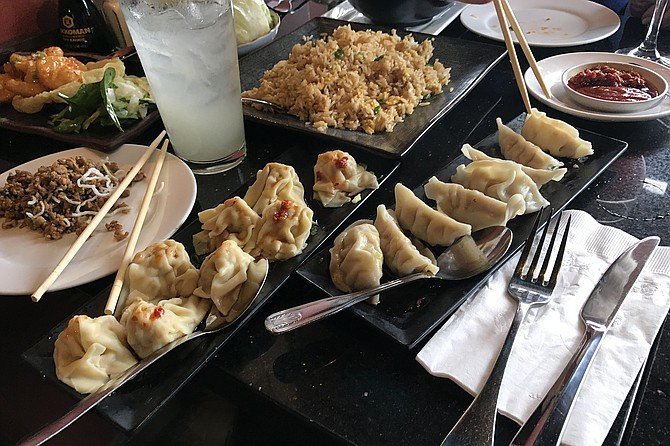 Gyoza, wonton, chicken for lettuce wraps: dishes keep on coming!