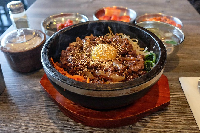 Bulgogi is not as on trend as seolleongtang, but it's good.