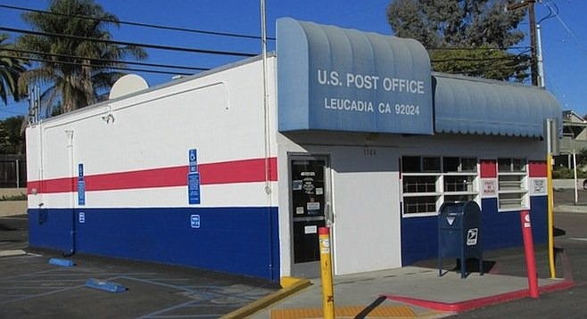 The building has served Leucadia since the late 1940s.