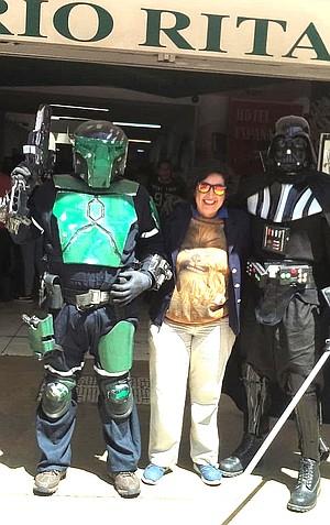 Bob Felt, Kathy Angel, Darth Vader